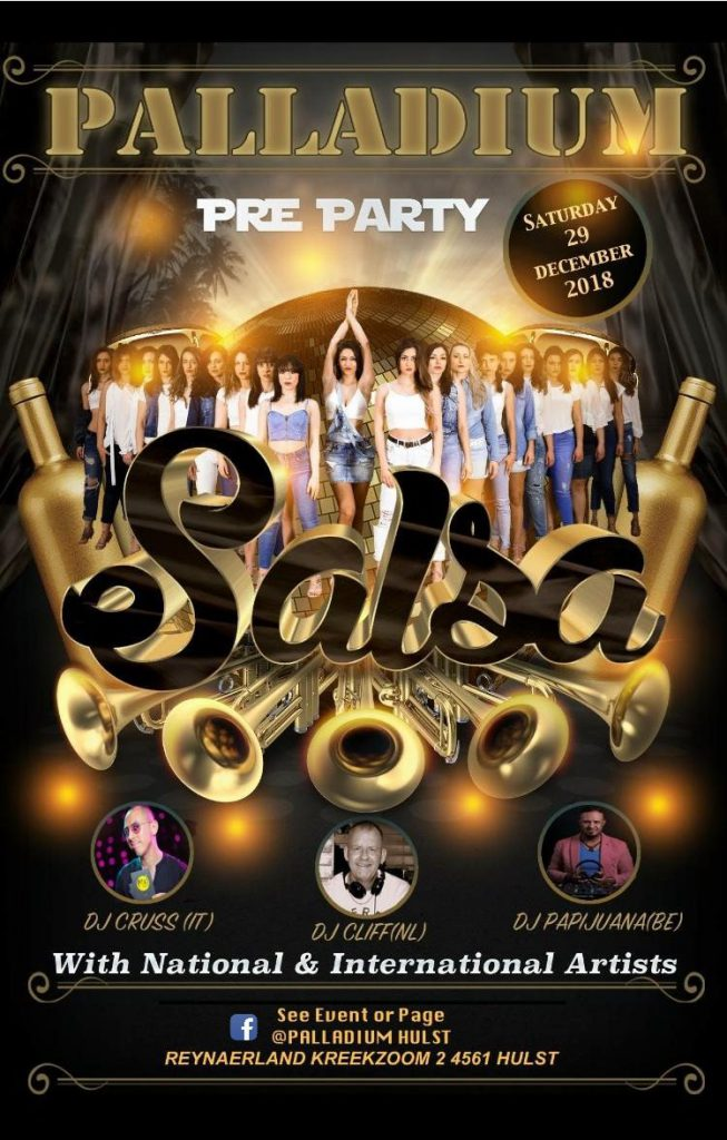 Palladium Pre Party 29 december.